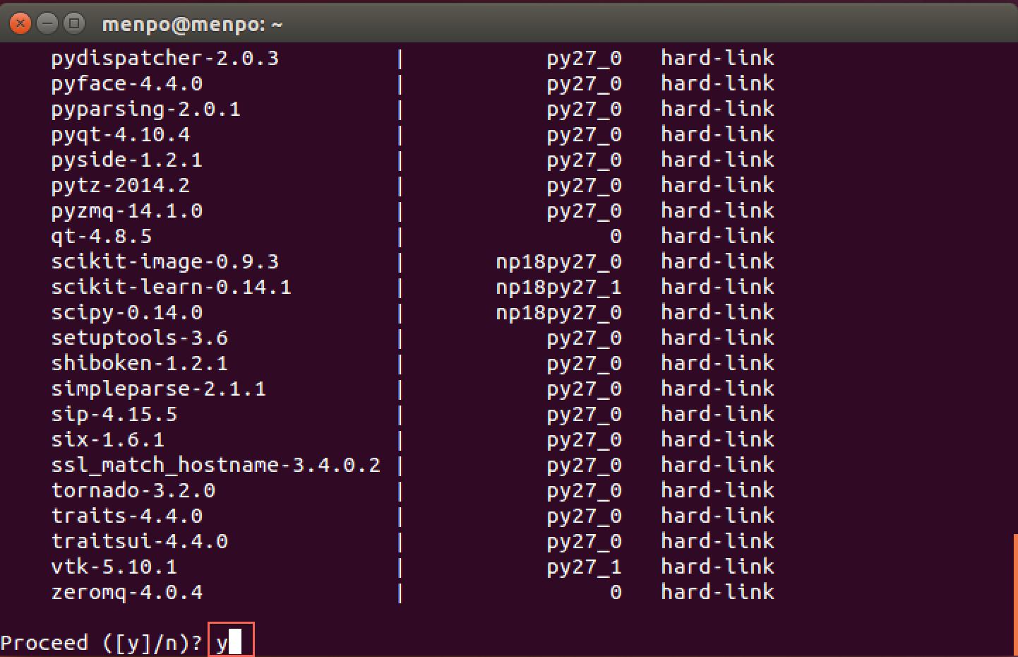 install conda command line