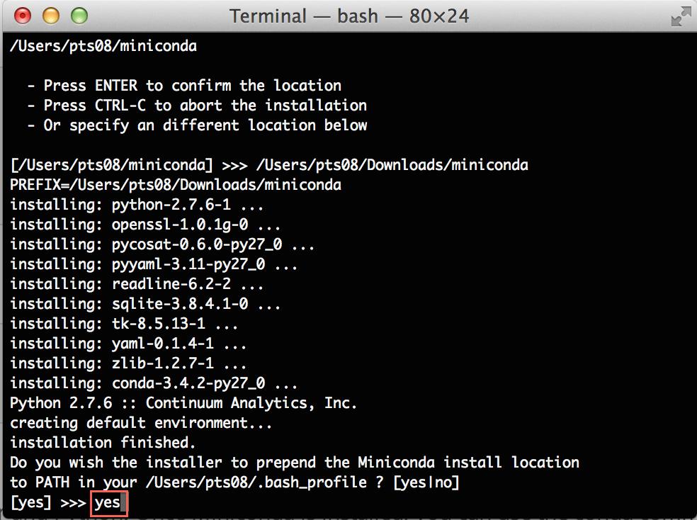 Install anaconda python mac   How To Install Anaconda On Linux